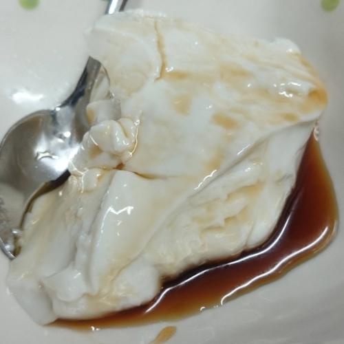 花生豆腐 自家製のジーマミーとうふ