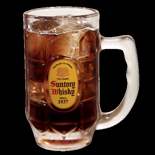 可樂風味威士忌蘇打  コークハイボール