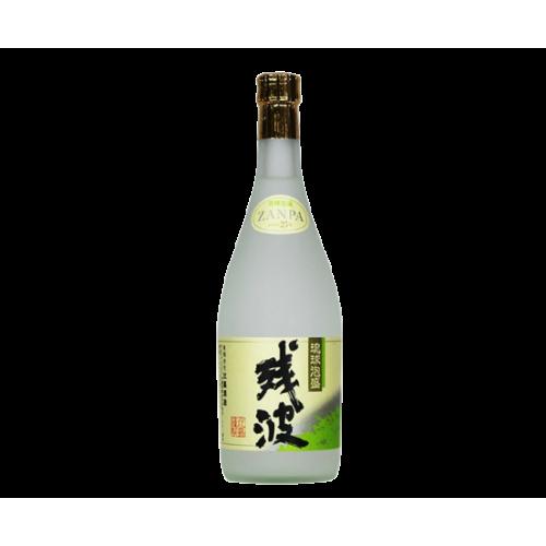 殘波(白) 25% (一瓶)   残波 白 25%(ボトル)