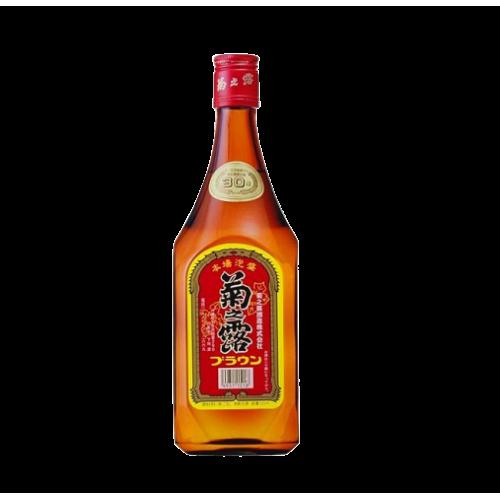 菊之露brown 30% (一瓶)   菊の露ブラウン 30%(ボトル)