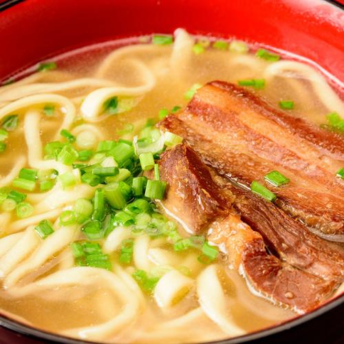 沖繩蕎麥湯麵    〆の沖縄そば