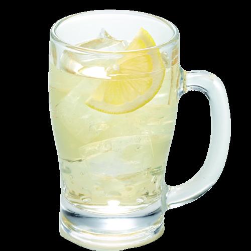 香檬風味威士忌蘇打特大杯  メガシークヮサーハイボール