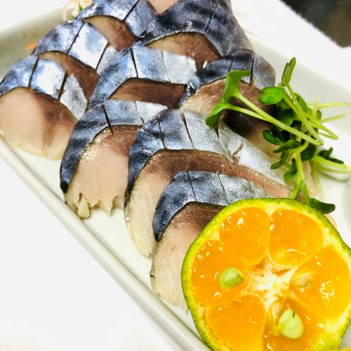 青花魚 シメサバ