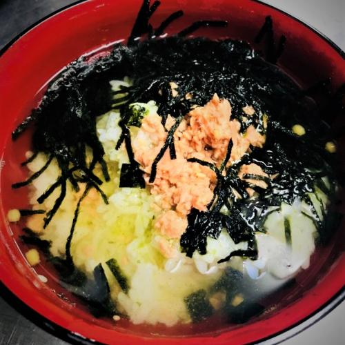 茶泡飯(鮭魚 ) お茶漬け(鮭)