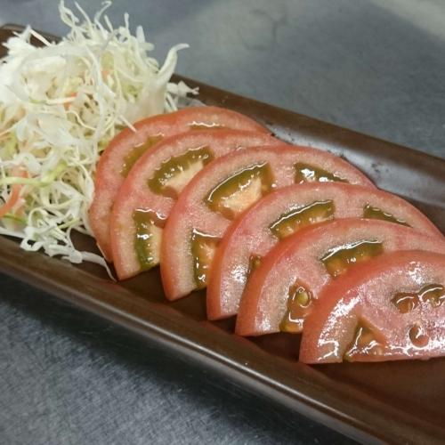 蕃茄冷盤切片 冷しトマト
